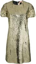 No.21 sequin embellished T-shirt dress