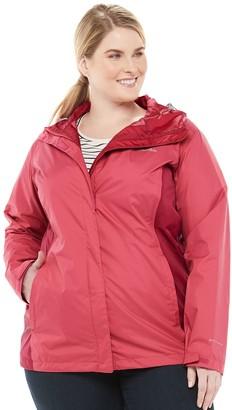 Columbia Plus Size Arcadia II Hooded Packable Jacket
