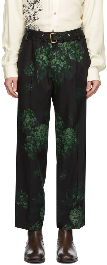 Thumbnail for your product : Davi Paris Black Hortense Trousers