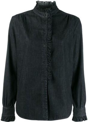 Dondup relaxed-fit ruffle shirt