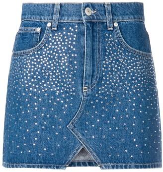 Chiara Ferragni Embellished Mini Skirt