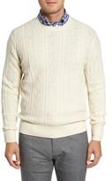 Peter Millar Men's Crown Wool Blend Fisherman Sweater