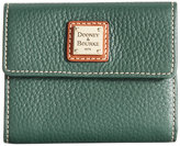 Dooney & Bourke Pebble Small Flap Wallet
