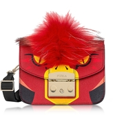 Furla Metropolis Jungle Parrot Mini Crossbody Bag