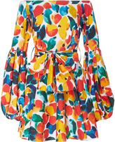 Caroline Constas Gisele Off The Shoulder Mini Dress