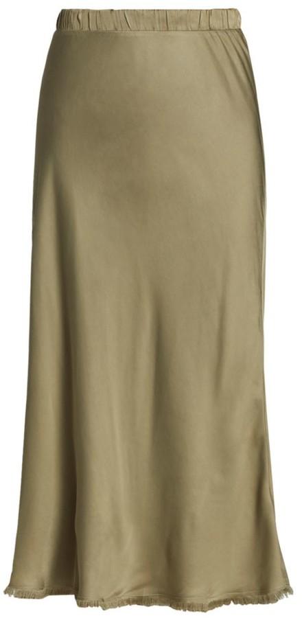 Nation Ltd. Mabel Sateen Midi Skirt