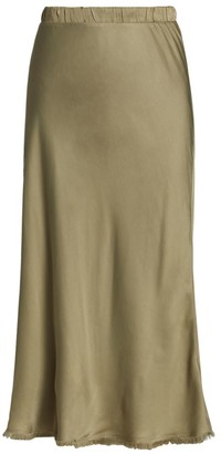 Nation Ltd. Mabel Sateen Midi Skirt