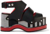 Proenza Schouler Woven Leather Platform Sandals - IT40