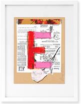 Jonathan Adler Trey Speegle Letter Series - Pink E