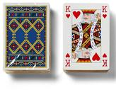 Banana Republic Luxe Vintage Hermes Alpine Print Playing Cards