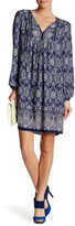 Max Studio Tassel Tie Paisley Dress