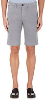 Barneys New York MEN'S WASHINGTON COTTON POPLIN SHORTS
