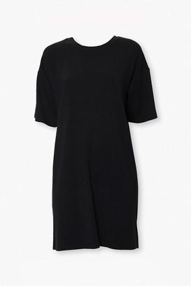 Forever 21 Cutout T-Shirt Dress