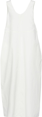 Jil Sander Cotton And Silk-blend Maxi Dress
