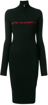 Misbhv Black Cotton - elasthane Dresses