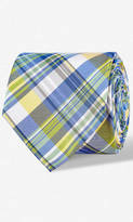 Narrow Silk Tie - Plaid