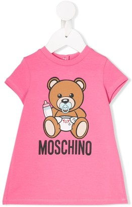 MOSCHINO BAMBINO Baby Bear Dress