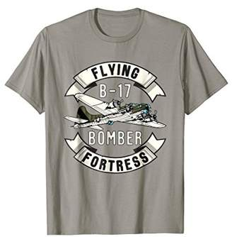 B-17 Bomber WW2 Plane Aircraft Aviation Airplane Shirt Gift
