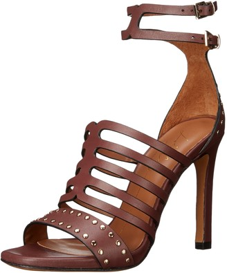 Lola Cruz Women's Double Buckle Ankle Strap Sandal