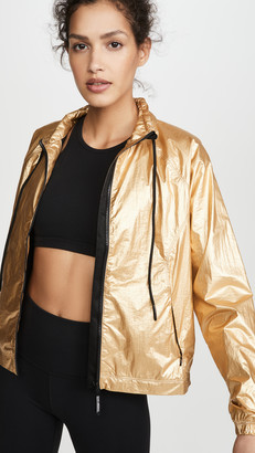 Good American Active Medal Winning Running Jacket