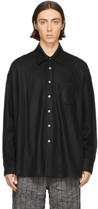 Our Legacy Black Borrowed Shirt