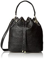 Rosetti Cassandra Drawstring Bucket Cross-Body Bag