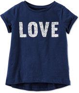 Carter's Graphic-Print Love T-Shirt, Toddler Girls (2T-5T)
