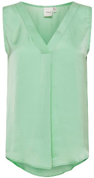 Ichi Malachite Green Crissy Top - 36 | Malachite Green