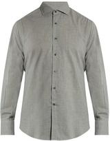Brunello Cucinelli French-collar cotton shirt