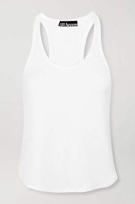 All Access Concert Stretch-modal Jersey Tank - White