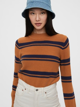 Gap Cropped Mockneck Sweater