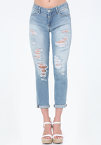 Bebe Liberty Girlfriend Jeans