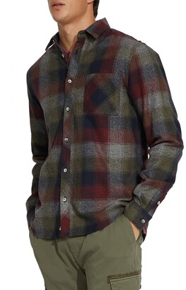 Civil Society McNary Plaid Flannel Regular Fit Shirt