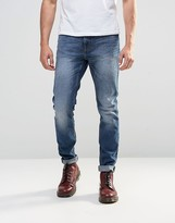 Cheap Monday Sonic Slim Jeans Sterling Blue