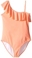 Chloe Kids - One Shoulder One-Piece Swimsuit Girl's Swimsuits One Piece