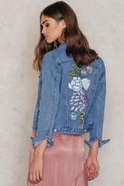 Glamorous Painted Denim Jacket