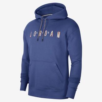 Nike Men's Fleece Pullover Hoodie Jordan Sport DNA