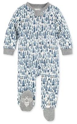 Burt's Bees Baby Newborn Baby Boy Organic Cotton Sleep 'N Play Pajamas (NB-9M)