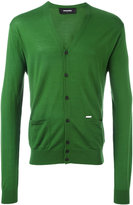 DSQUARED2 button up cardigan - men - Wool - XL