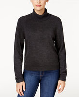 Karen Scott Petite Luxsoft Turtleneck Sweater, Only at Macy's