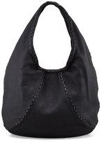 Bottega Veneta Cervo Large Hobo Bag, Black