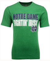 Colosseum Men's Notre Dame Fighting Irish Wordmark Stack T-Shirt