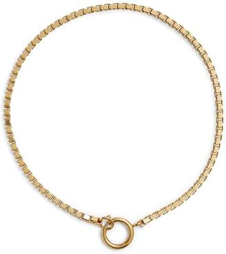 Martha Calvo Charm Box Chain Necklace