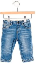 Burberry Boys' Flat Front Straight-Leg Jeans