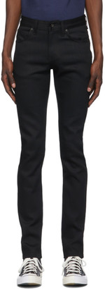 Naked and Famous Denim Black Super Guy Jeans