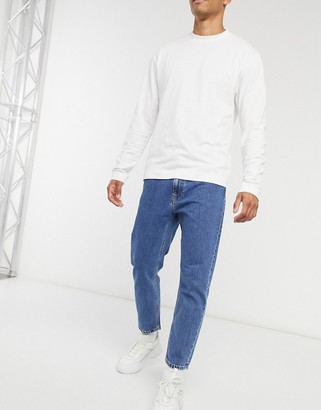 Calvin Klein Jeans dad fit jeans in mid wash