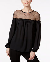 MSK Off-The-Shoulder Illusion Top