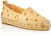 Rag & Bone Women's Adria Embroidered Espadrille Flats