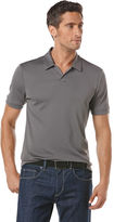 Perry Ellis Short Sleeve Open Collar Polo