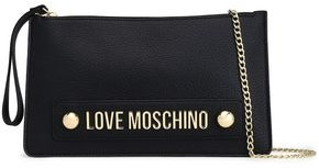 Love Moschino Embellished Faux Leather Clutch